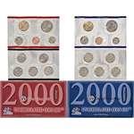 2000 P D US Mint Uncirculated Coin Mint Set Sealed