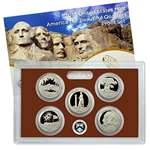 2013 S US Proof Set National Parks Quarters Americ