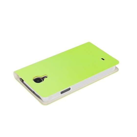Brushed Lime Samsung Galaxy S4 View Flip Cover C-3