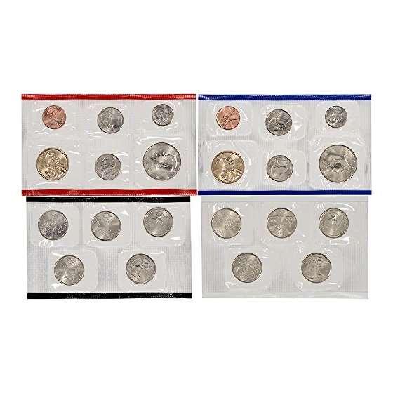 2004 US Mint Uncirculated Coin Set U04 OGP-3