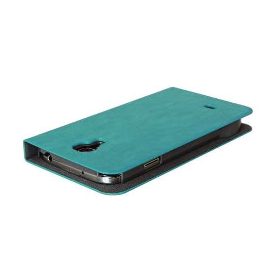 Emerald Blue Samsung Galaxy S4 Flip Cover Case A-3