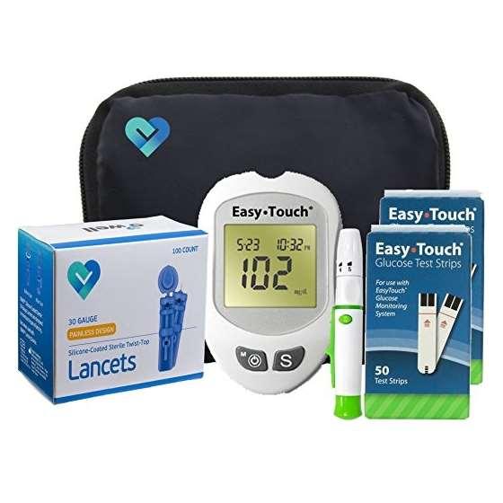 Easy Touch Diabetes Testing Kit