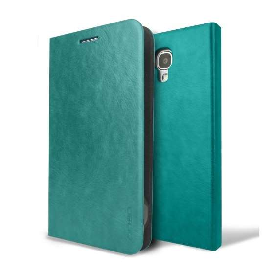Emerald Blue Samsung Galaxy S4 Flip Cover Case Ama