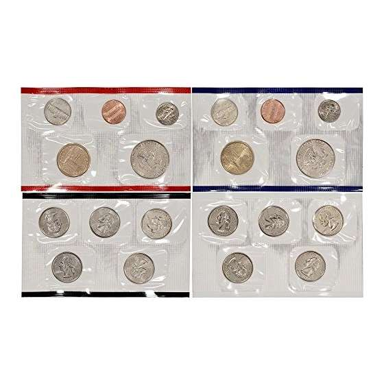 2000 P D US Mint Uncirculated Coin Mint Set Seal-3